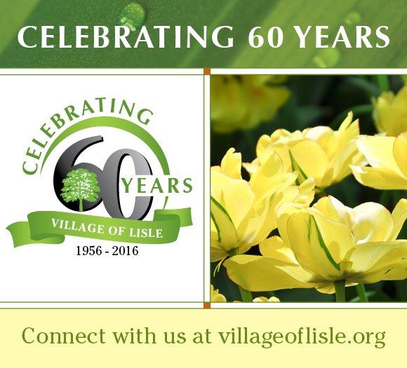 Lisle 60th Anniversary Banner