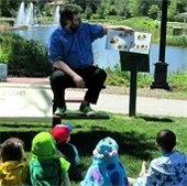 Library Storytime at Pond
