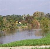 Flooded Levee