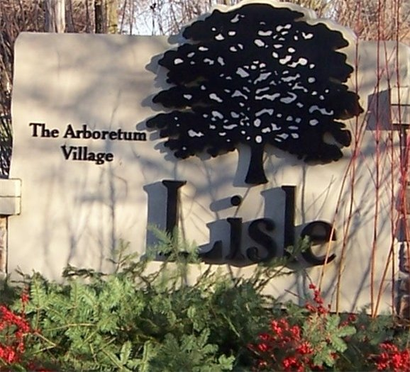 Decorated Gateway Sign