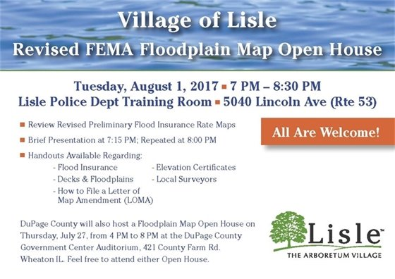 Flood Open House Invite