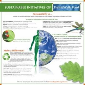 Sustainable Initiatives Sign