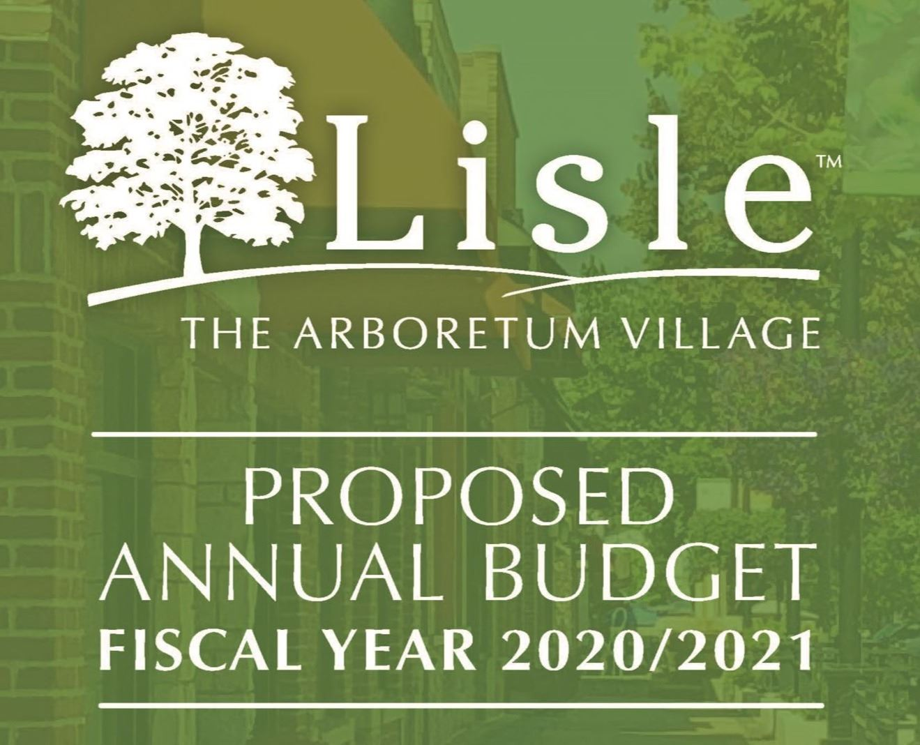 VOL.Proposed Budget FY20.21 Cover